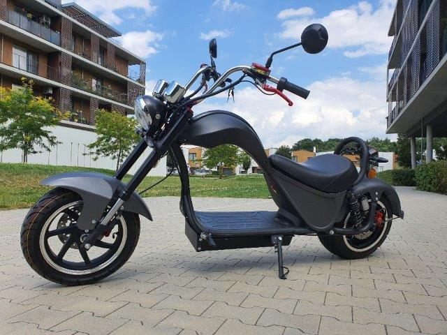 "Elektrický Chopper® COBRA Black 45km/h Model: ""ES8007"""
