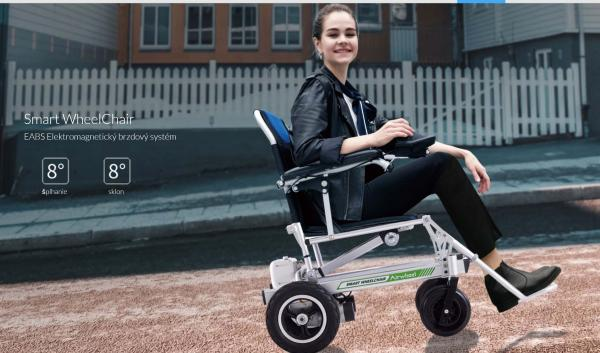 Electric wheelchair Airwheel H3PS Remote controlled up to 20m 19.5 kg.