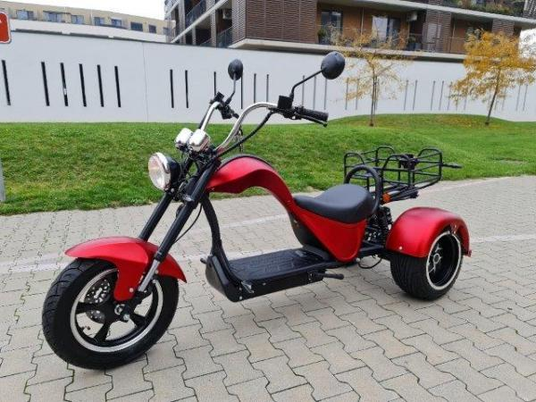 "Electric Chopper® Red 45km/h Cobra 4000W Model: ""ES8009"""
