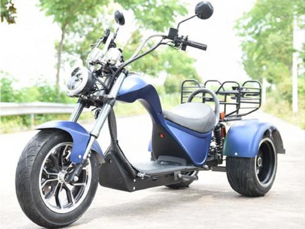 "Electric Chopper® Blue 45km/h Cobra 4000W Model: ""ES8009"""