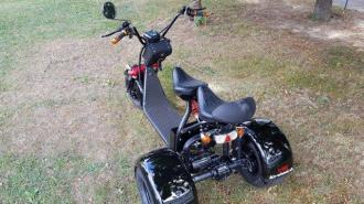 Elektrical HARLEY 64  60V tricycle 30km/h 120km
