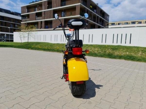 "Elektrický Chopper® Yellow 45km/h Model: ""CP-1"""