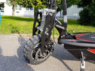 "Electric scooter 12 12"" 1000W 38km / h ∞30km lead DES06-C2"