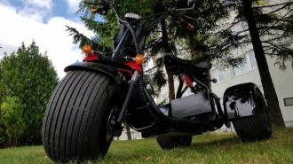 Electric HARLEY 66 60V ML-SC09 tricycle  30 km / h 200 km