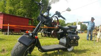Electric HARLEY 62  60V cushioning   15km/h 400km