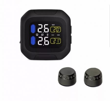 Tire pressure gauge wireless